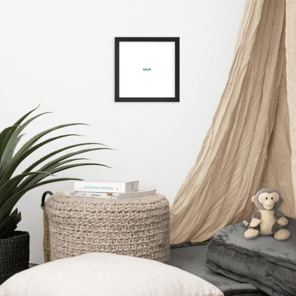 enhanced matte paper framed poster in black 10x10 front 612cf8181aa87