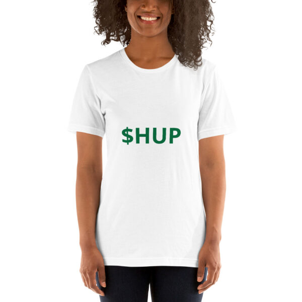 unisex staple t shirt white front 612cf93f6b301